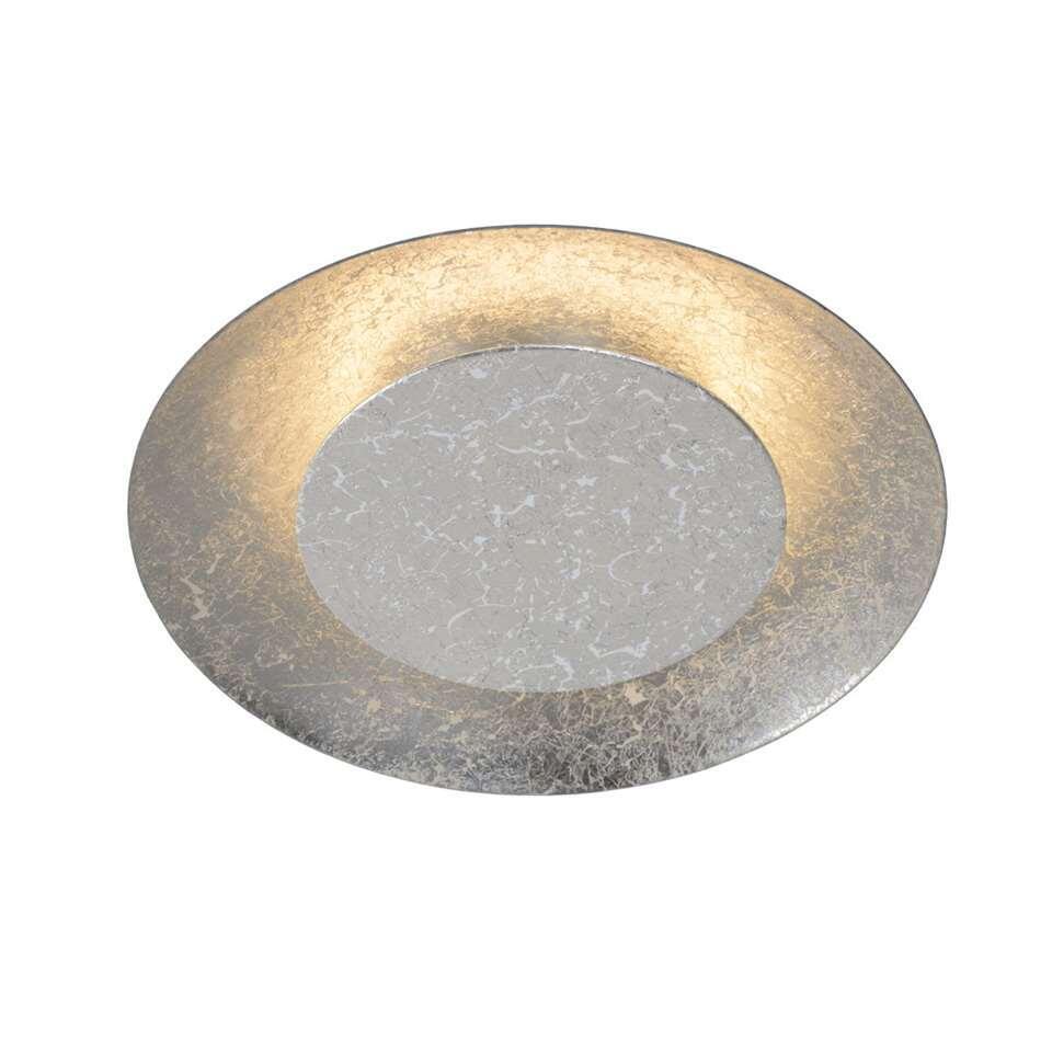 Lucide plafondlamp Foskal LED - zilverkleur - 21,5 cm