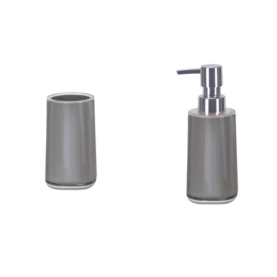 Kleine Wolke badkamerset Mable - grijs