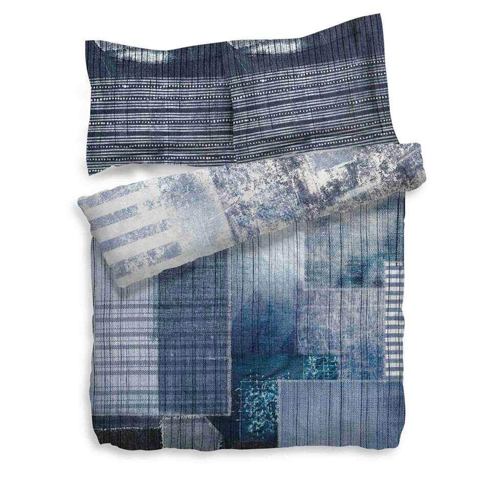 Heckett & Lane parure de couette Gavriel - bleue - 260x200 cm