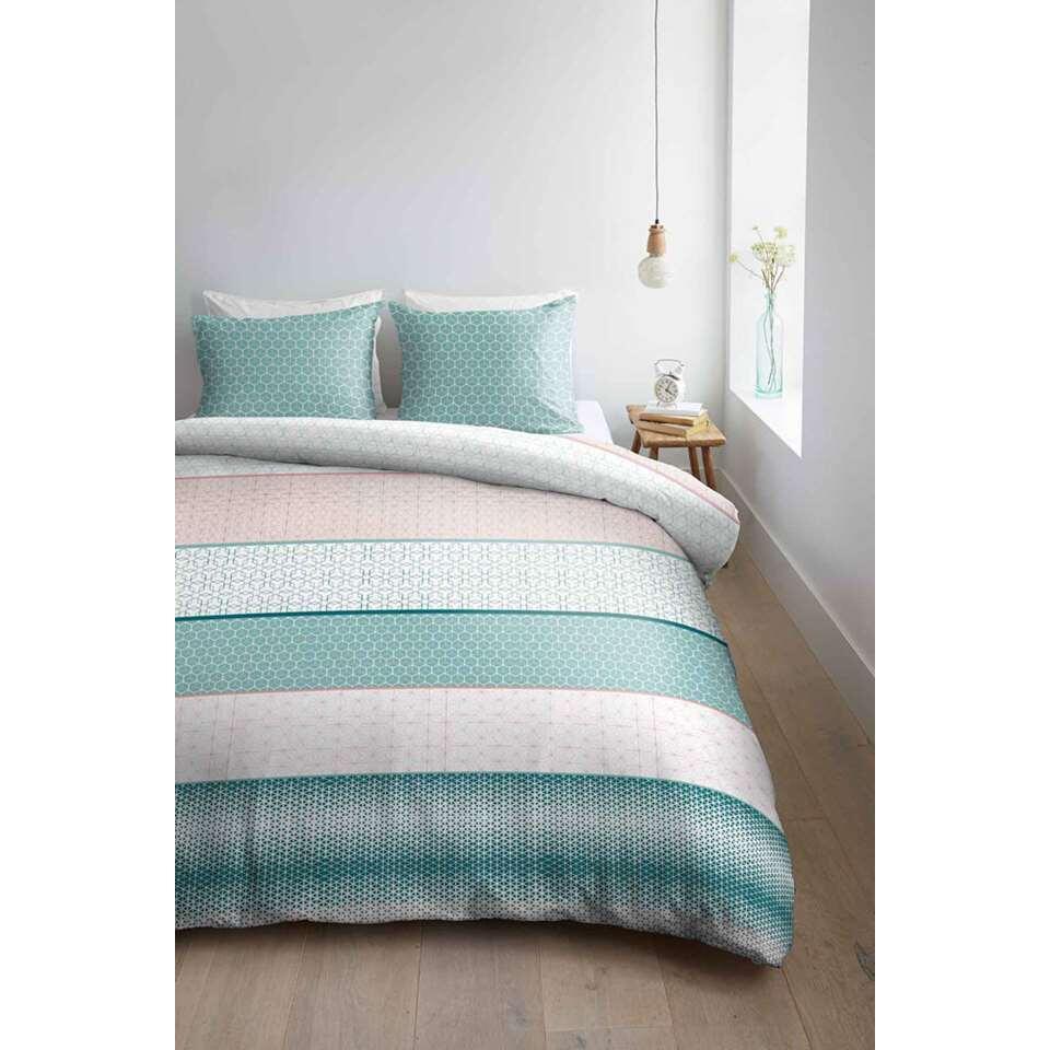 ambiante housse de couette kenan pastel 140x200 220 cm. Black Bedroom Furniture Sets. Home Design Ideas