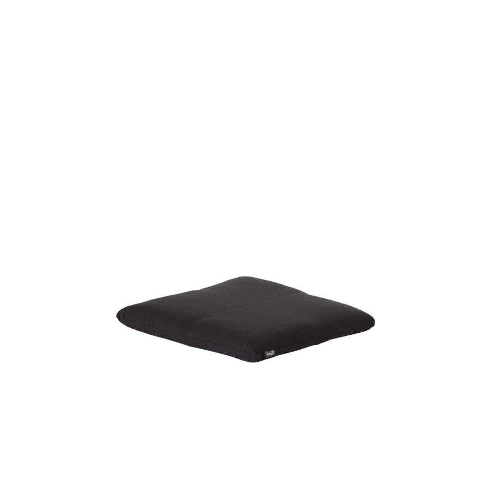 Hartman vouwstoelkussen Havana Dark Grey - donkergrijs - 41x38x4 cm - Leen Bakker