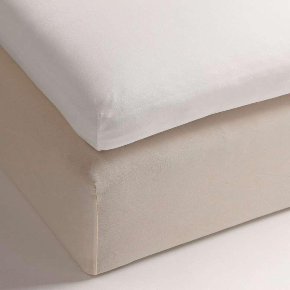 Drap-housse Heckett & Lane topper White - blanc - 180x200 cm