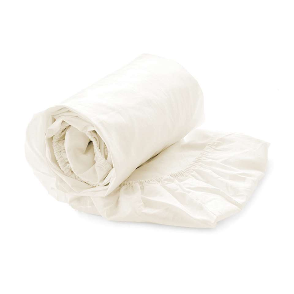 Drap-housse Heckett & Lane split-topper Off-white - crème - 180x210/220 cm