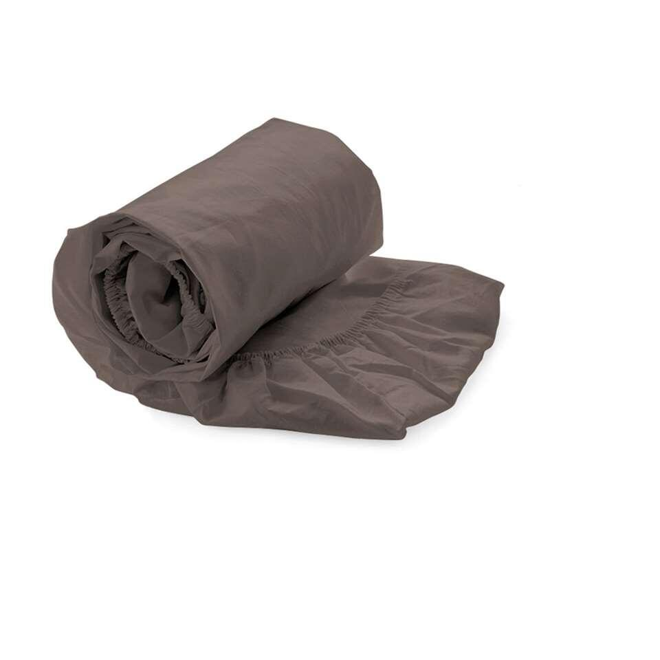Drap-housse Heckett & Lane topper Taupe - taupe - 90x210/220 cm