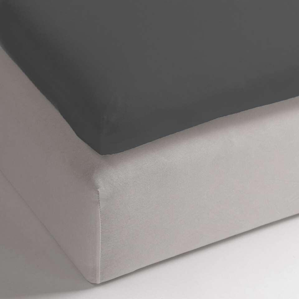 Drap-housse Heckett & Lane topper Anthracite - anthracite - 180x210/220 cm