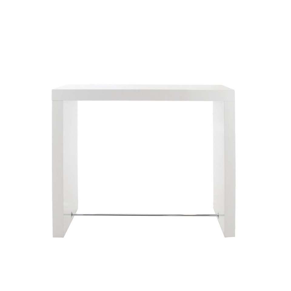 Bartafel Voka - wit - 105x60x130 cm