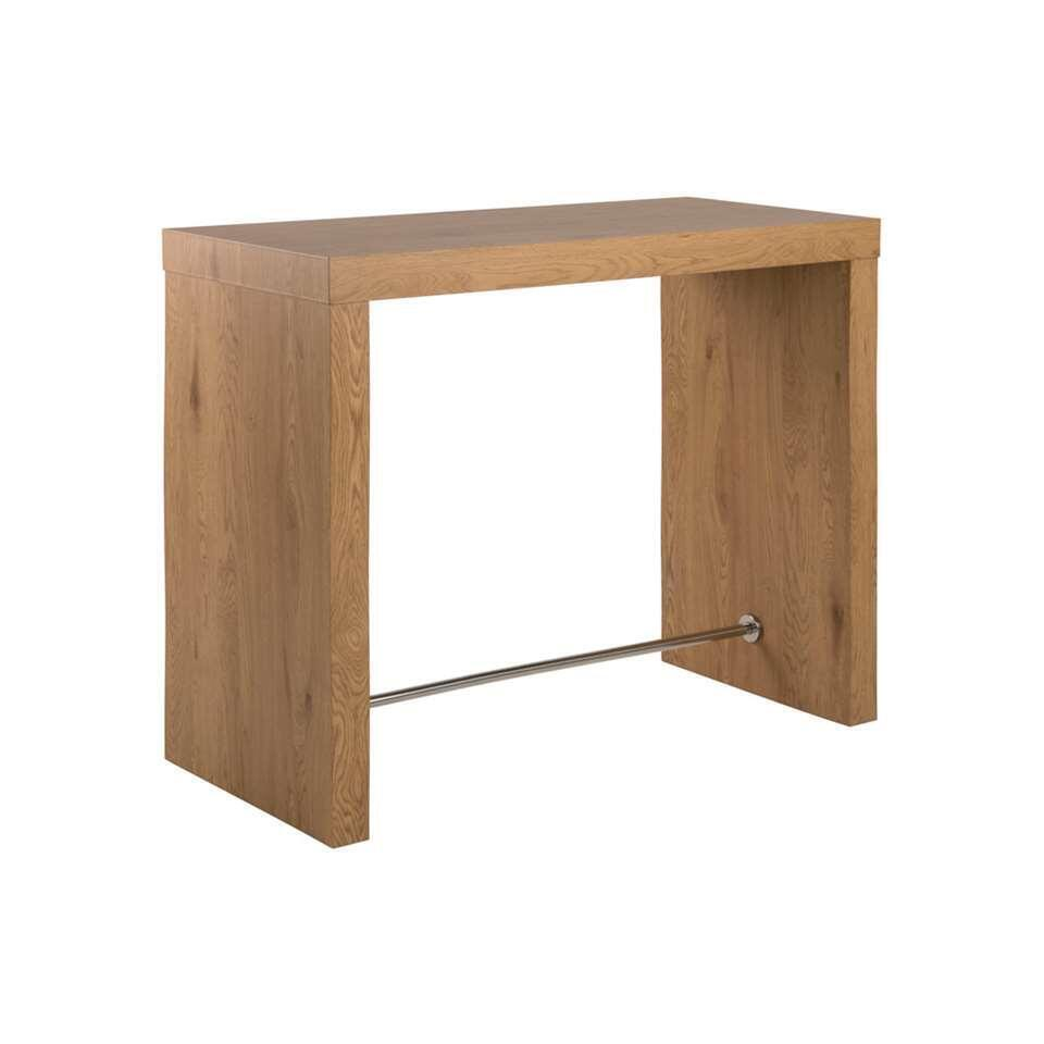 Table de bar Voka - brune - 105x60x130 cm