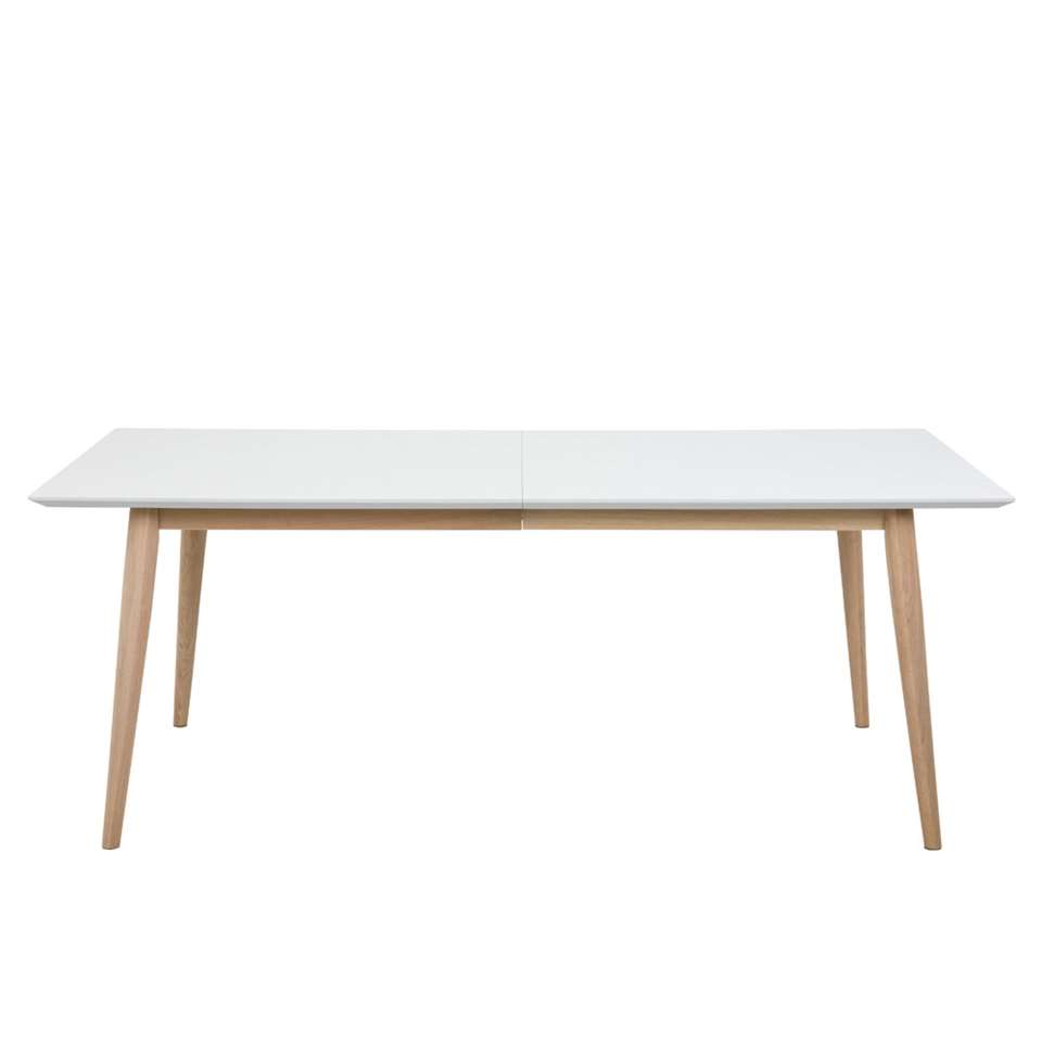 Table Edsta - blanche - 75,3x100x200 cm