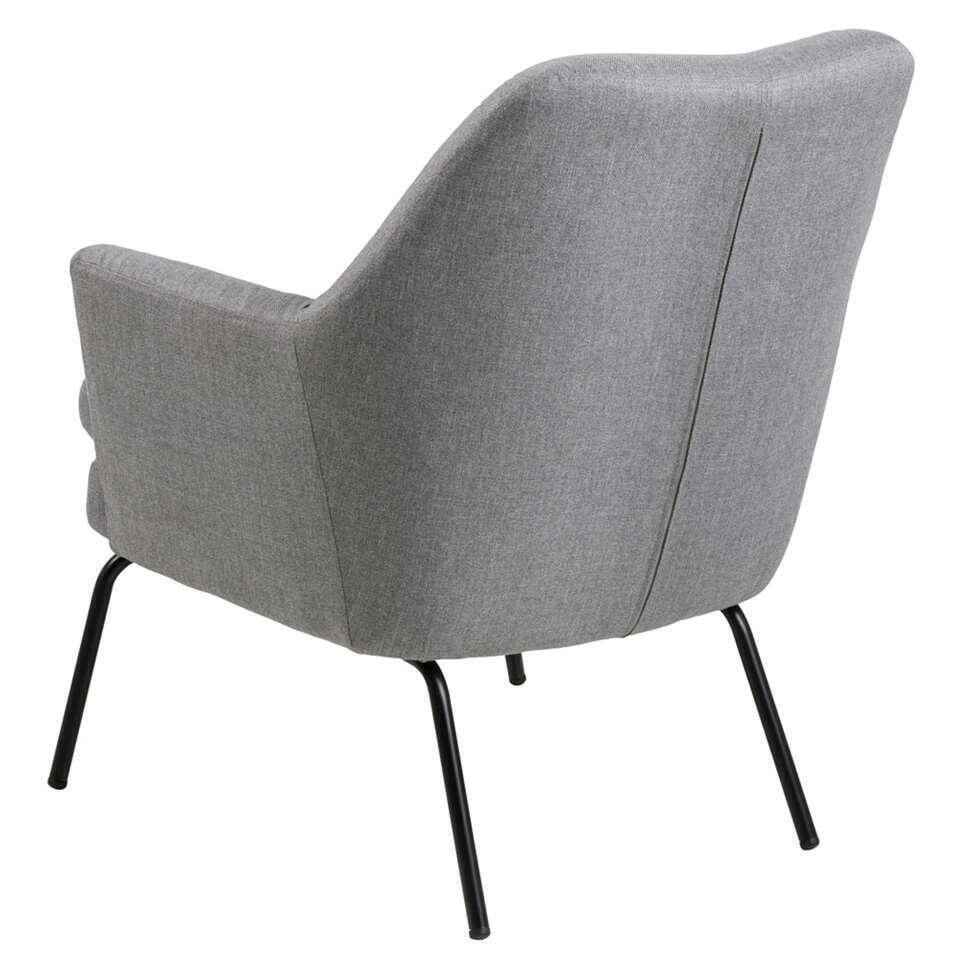 Fauteuil relax Ulla - tissu - gris clair