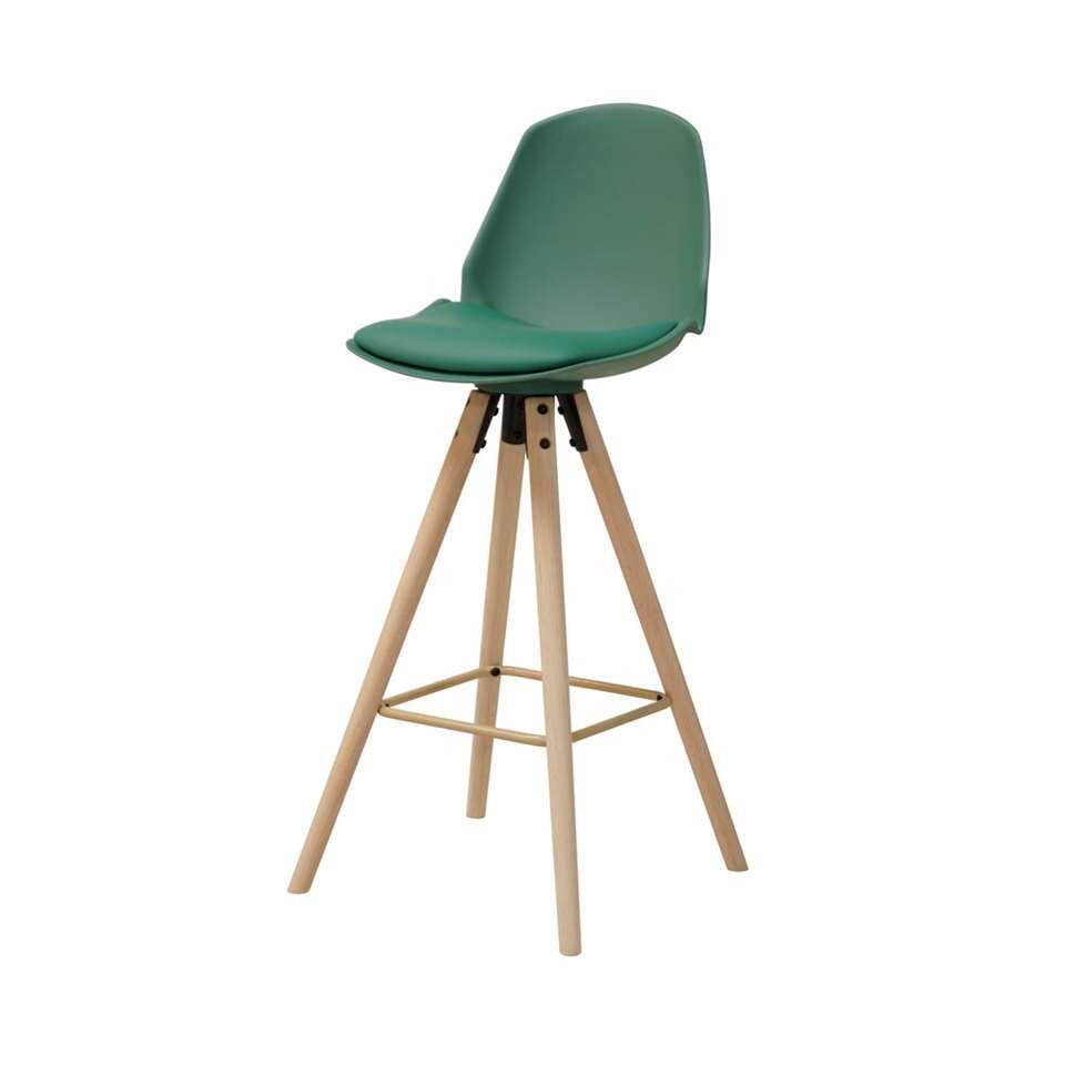 tabouret de bar bryne vert. Black Bedroom Furniture Sets. Home Design Ideas