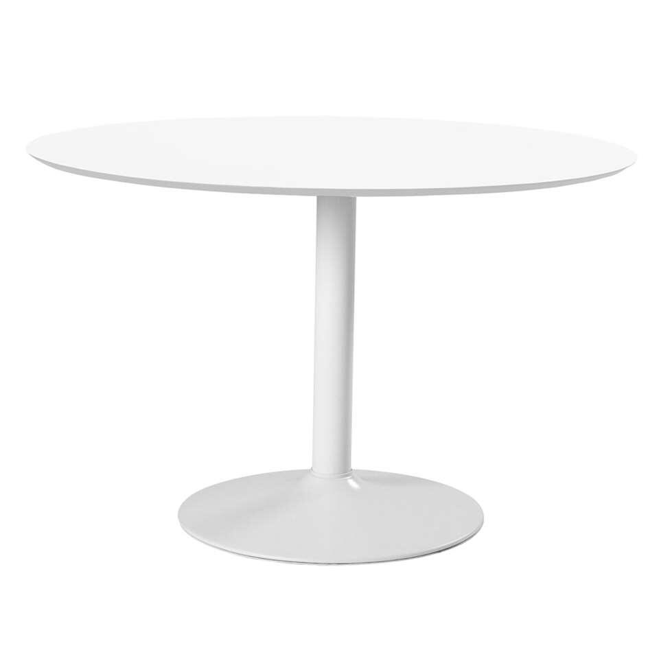 Table Muberg - blanche - 74x110x110 cm
