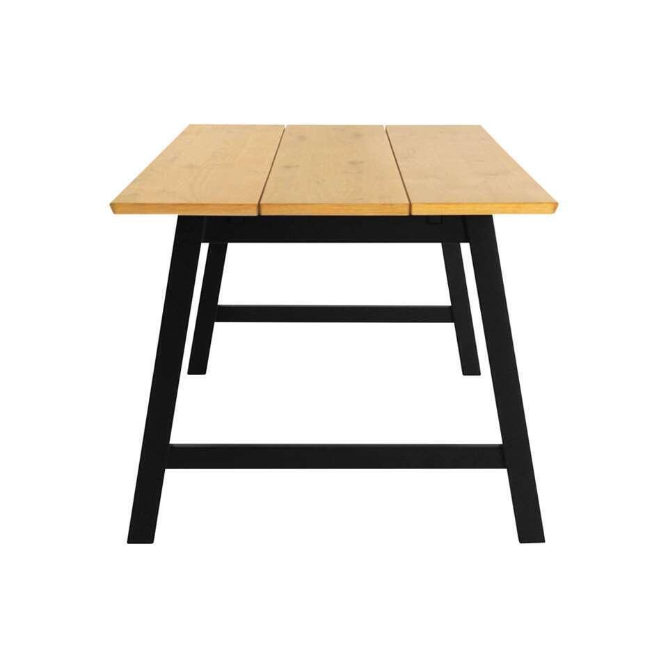 Table Lagan - brune - 75x90x180 cm