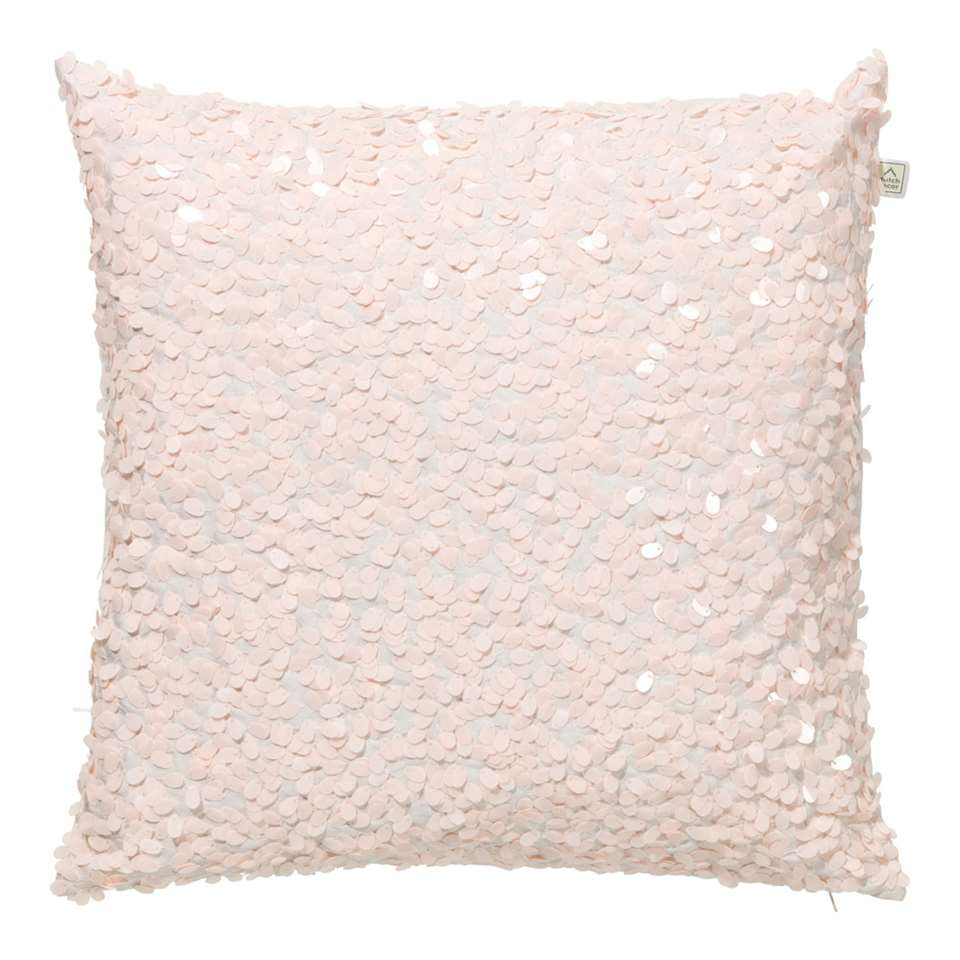Dutch Decor sierkussen Lovuri - roze - 45x45 cm