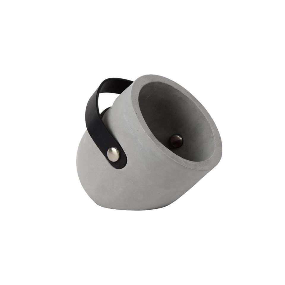 Lucide tafellamp Copain - taupe - 20 cm