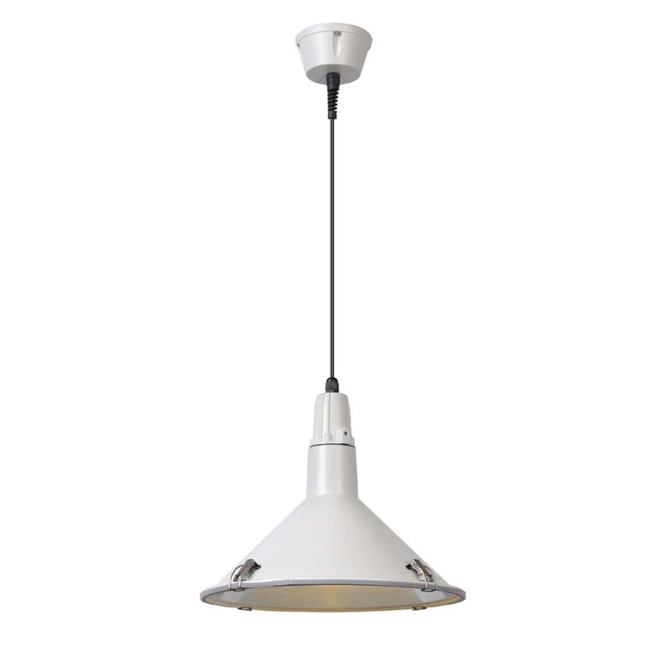 Lucide hanglamp buiten TONGA IP44 - wit - 25,5 cm