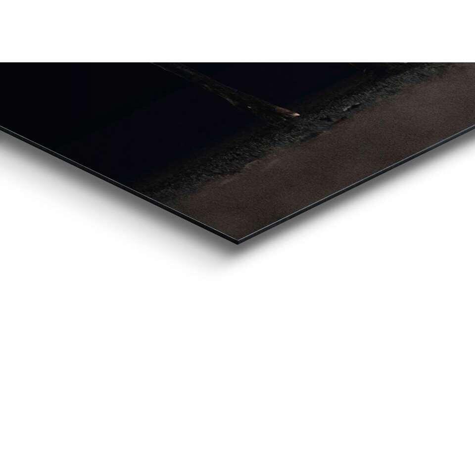Panneau décoratif Cerf - brun/noir - 60x90 cm