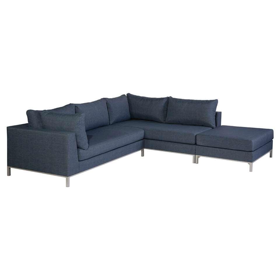 Exotan loungeset Sicilië rechts - jeansblauw - Leen Bakker