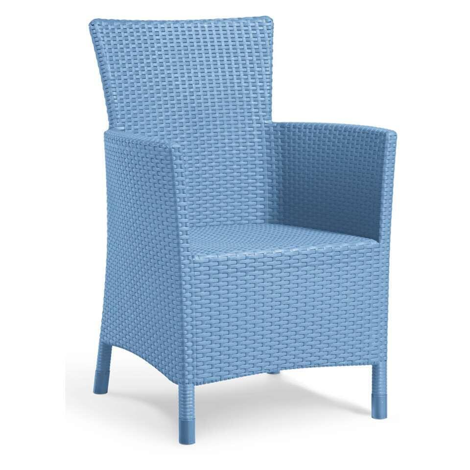 Allibert fauteuil Iowa - blauw - Leen Bakker