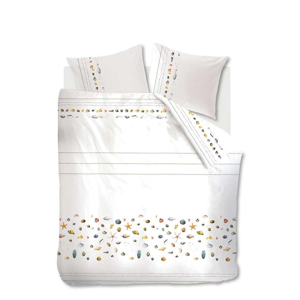 housse de couette marjolein bastin shellfish blanc. Black Bedroom Furniture Sets. Home Design Ideas