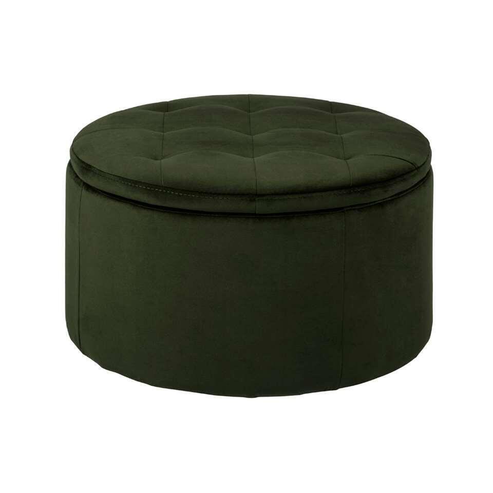 Pouf Debussy - vert - 35x60 cm