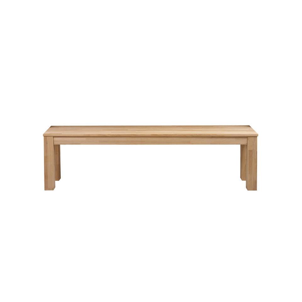 Woood banc Largo - couleur chêne - 46x160x30 cm
