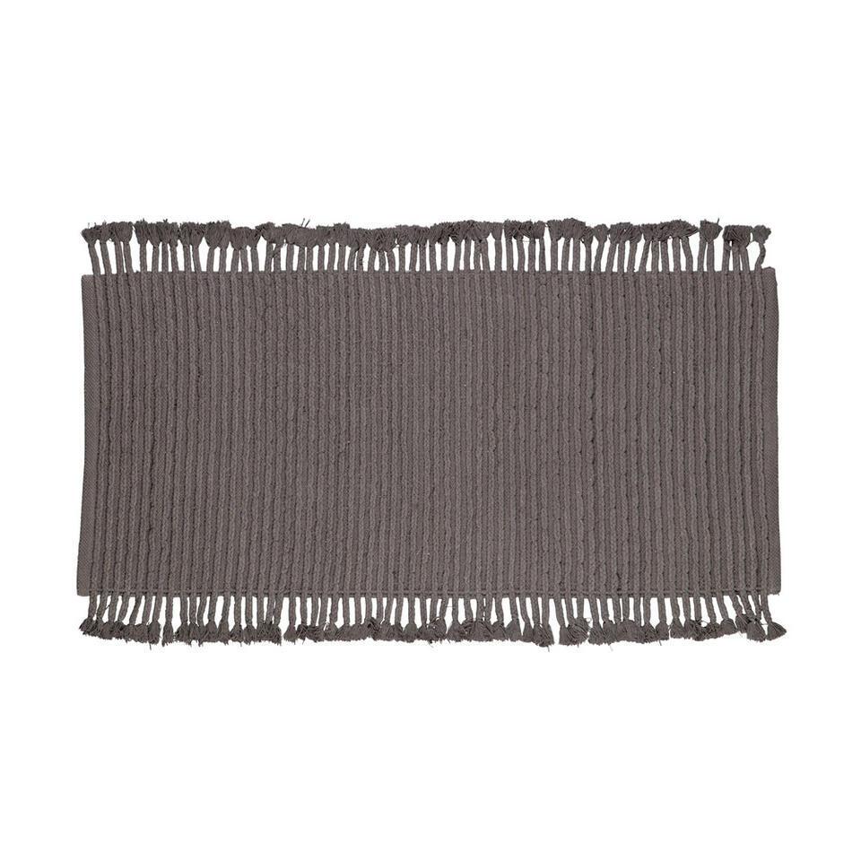Woood tapis Mink - anthracite - 170x240 cm