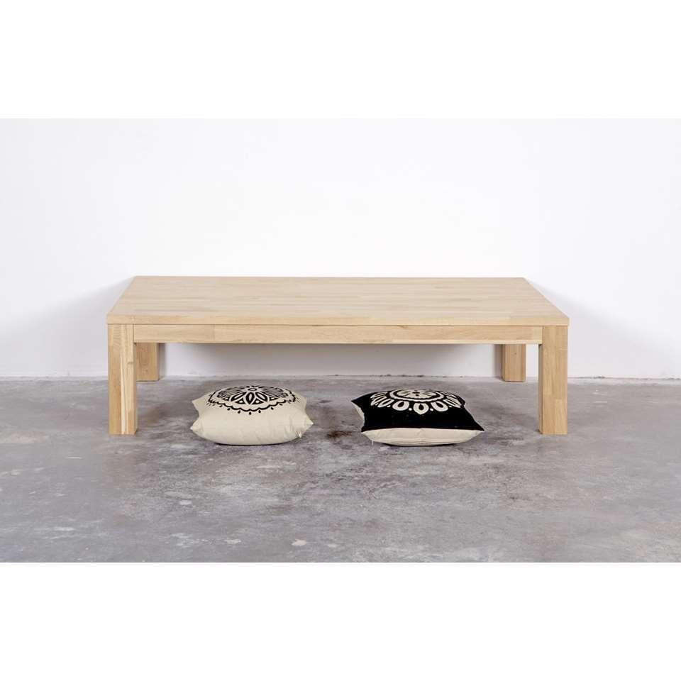 Woood table de salon Largo - couleur chêne - 40x150x85 cm