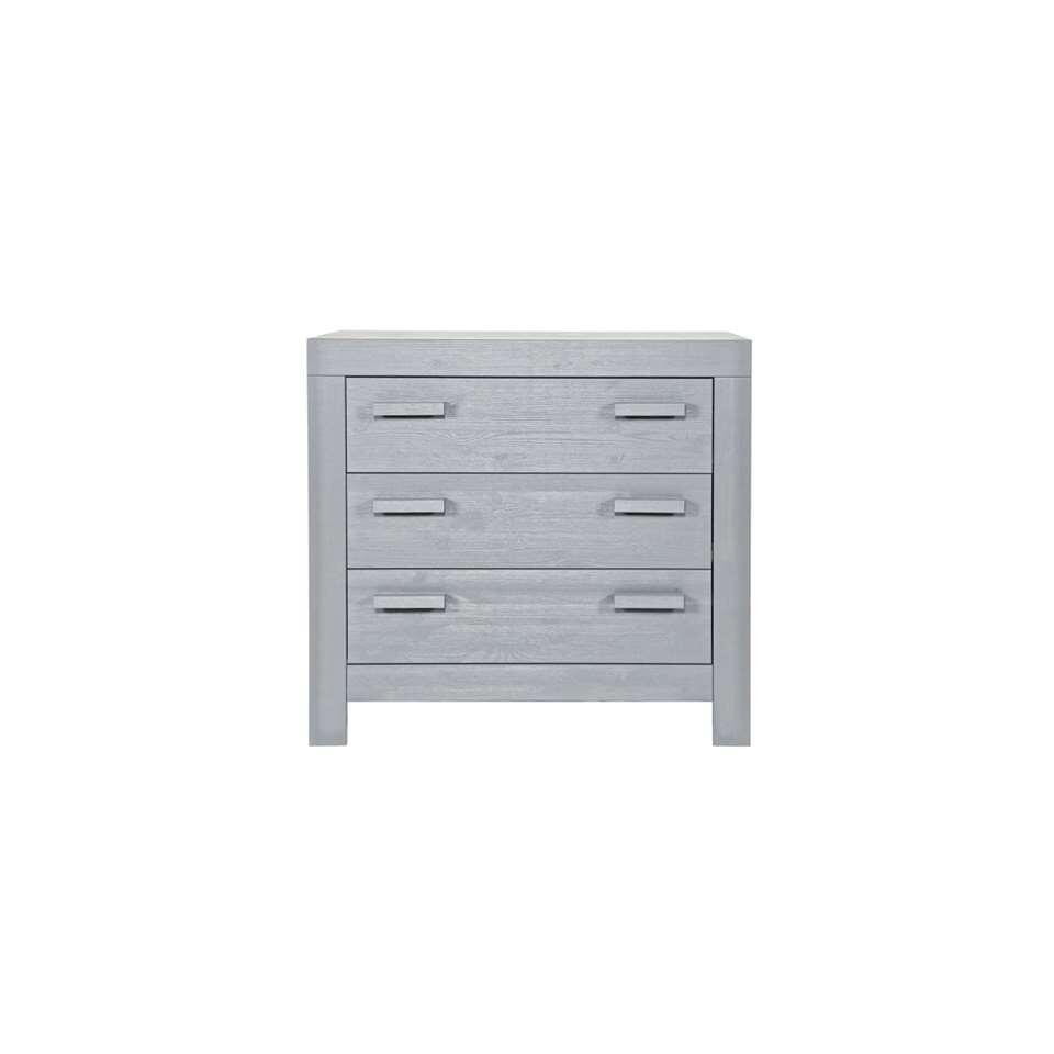 Woood commode New Life - gris béton - 91x95x52 cm