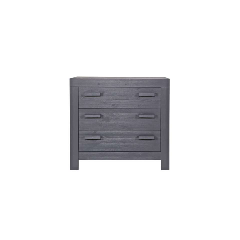 Woood commode New Life - grise - 91x95x52 cm