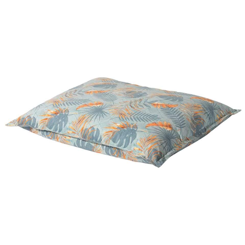 Madison Lazy Bag outdoor Dotan - blauw - 150x125 cm - Leen Bakker