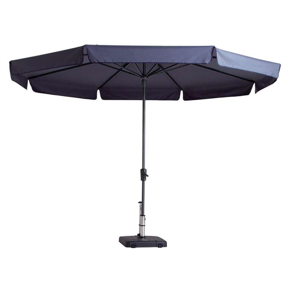Madison parasol Syros - blauw - Ø350 cm - Leen Bakker