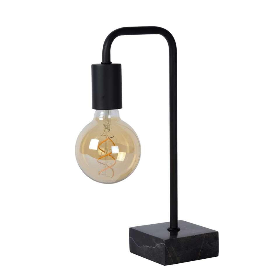 Lampe de table Lucide Lorin - noir
