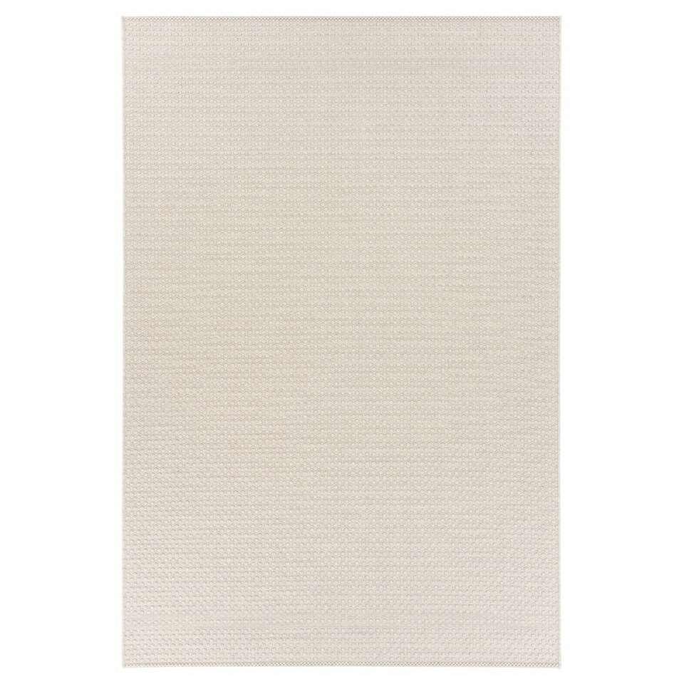 Floorita binnen-/buitentapijt Pallino - ecru - 155x230 cm