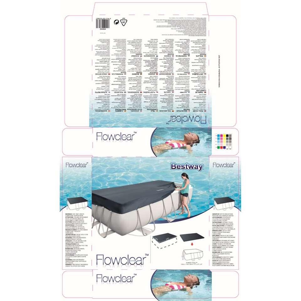 bestway b che pour piscine mistral rectangulaire 282. Black Bedroom Furniture Sets. Home Design Ideas