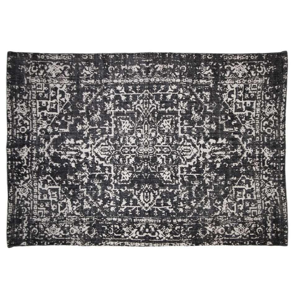 HSM Collection tapis Orita - noir/marron - 230x160 cm