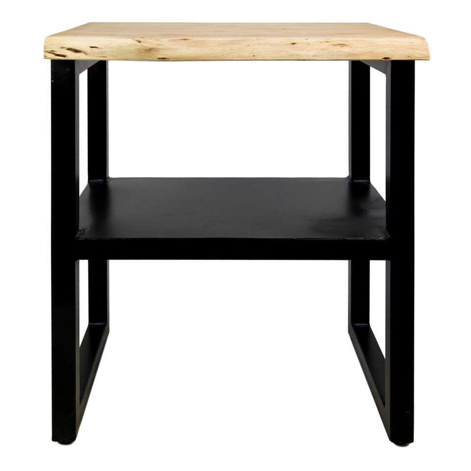 HSM Collection console SoHo - marron/noire - 60x45x75 cm