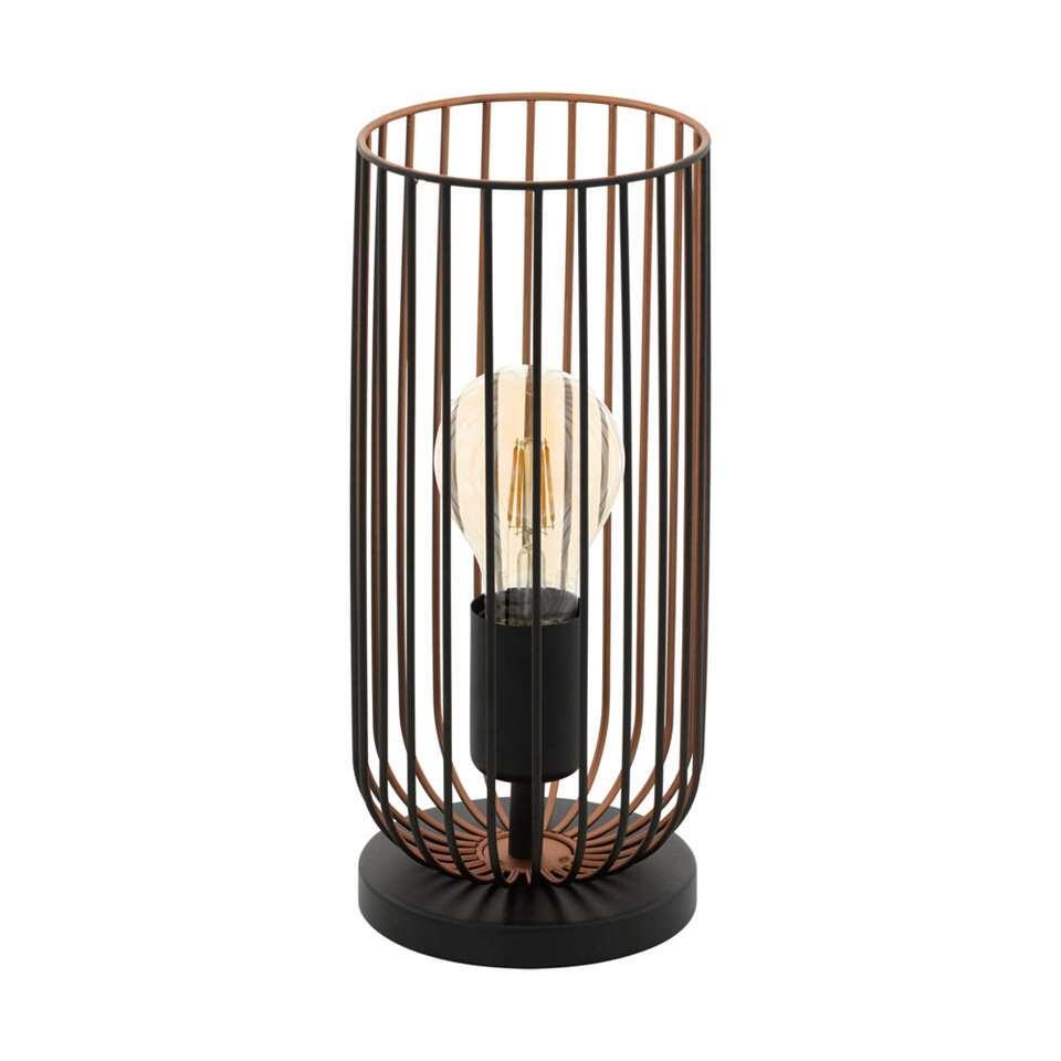 EGLO lampe de table Roccamena - noire/couleur cuivre
