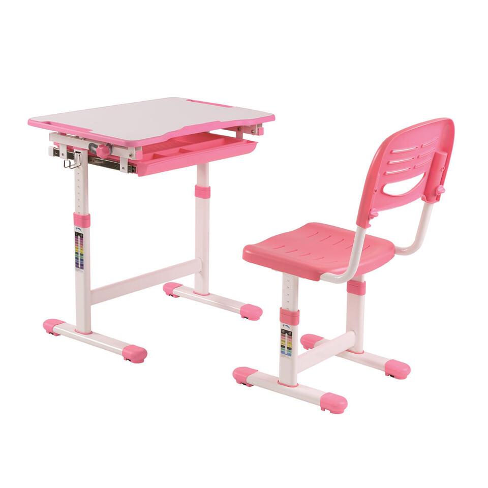 Vipack bureau Comfortline - roze - 37x55x47 cm
