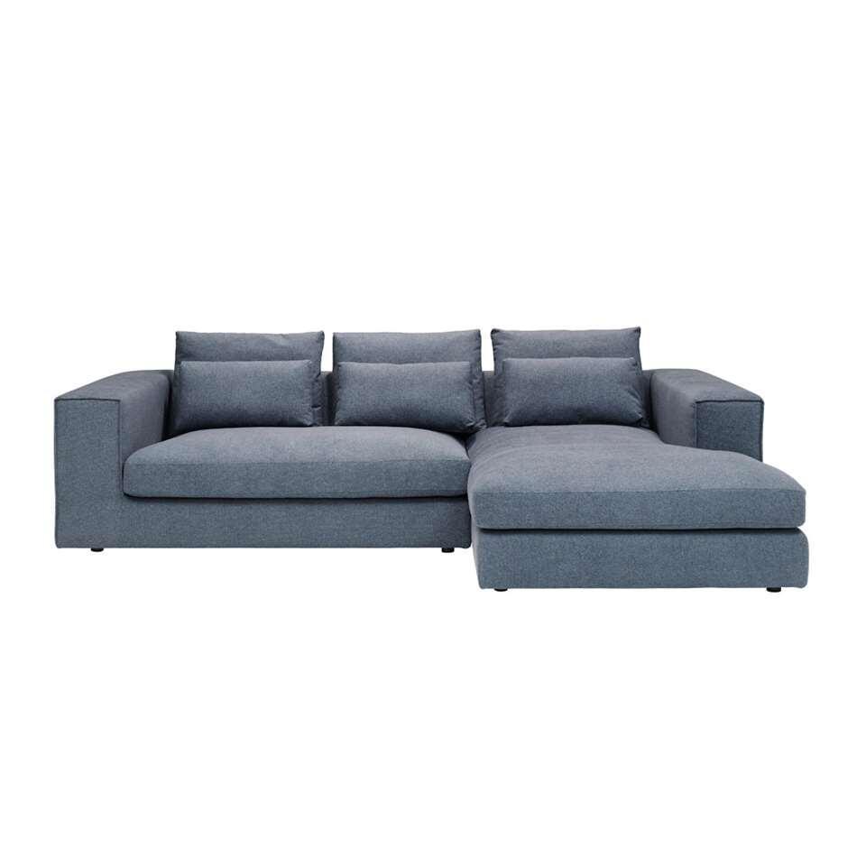 Canapé d'angle Sunderland - angle à droite - bleu