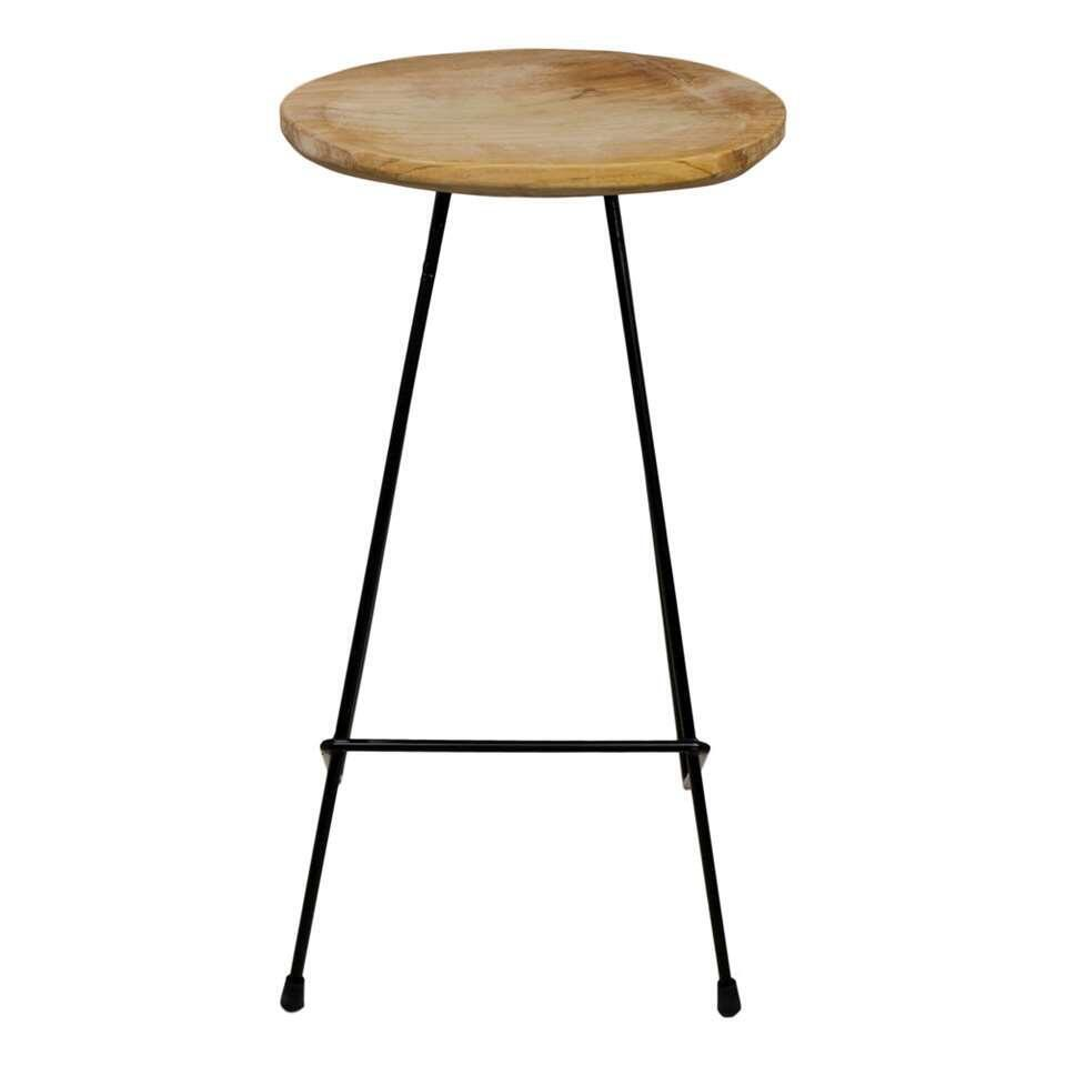 HSM Collection tabouret de bar Cisco - brun/noir
