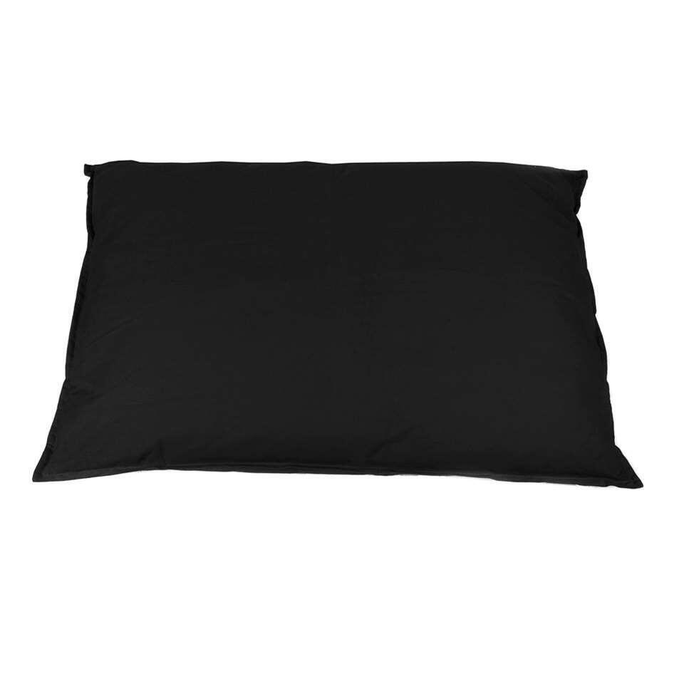 Kussen Tivoli XL - zwart - 100x70 cm