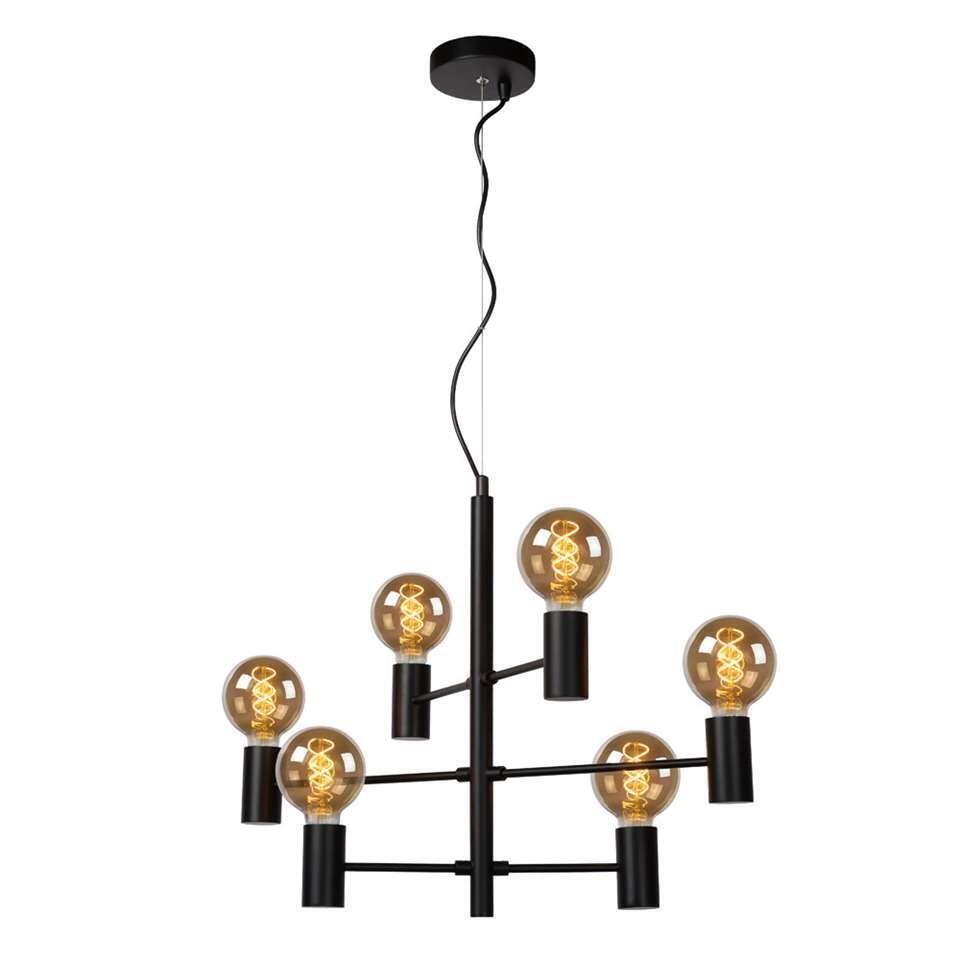 Lucide suspension Leanne - noire - 65x32x175 cm