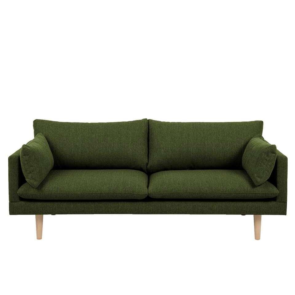 Canapé Invik 3 places - tissu Portland - vert