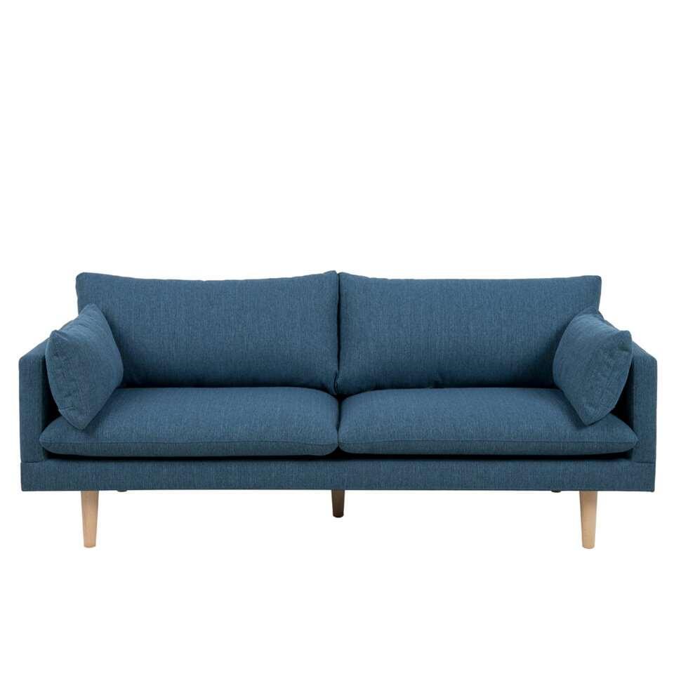 Canapé Invik 3 places - tissu Portland - bleu
