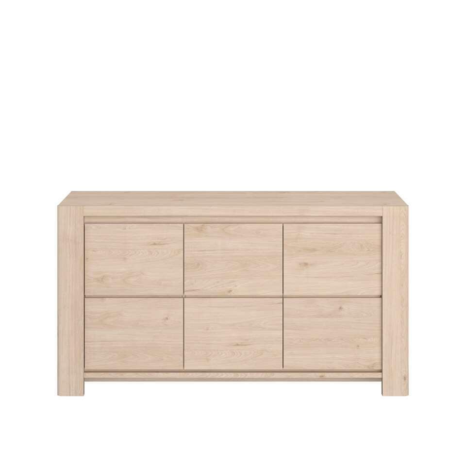 Parisot dressoir Portland - eikenkleur - 85x159x48 cm