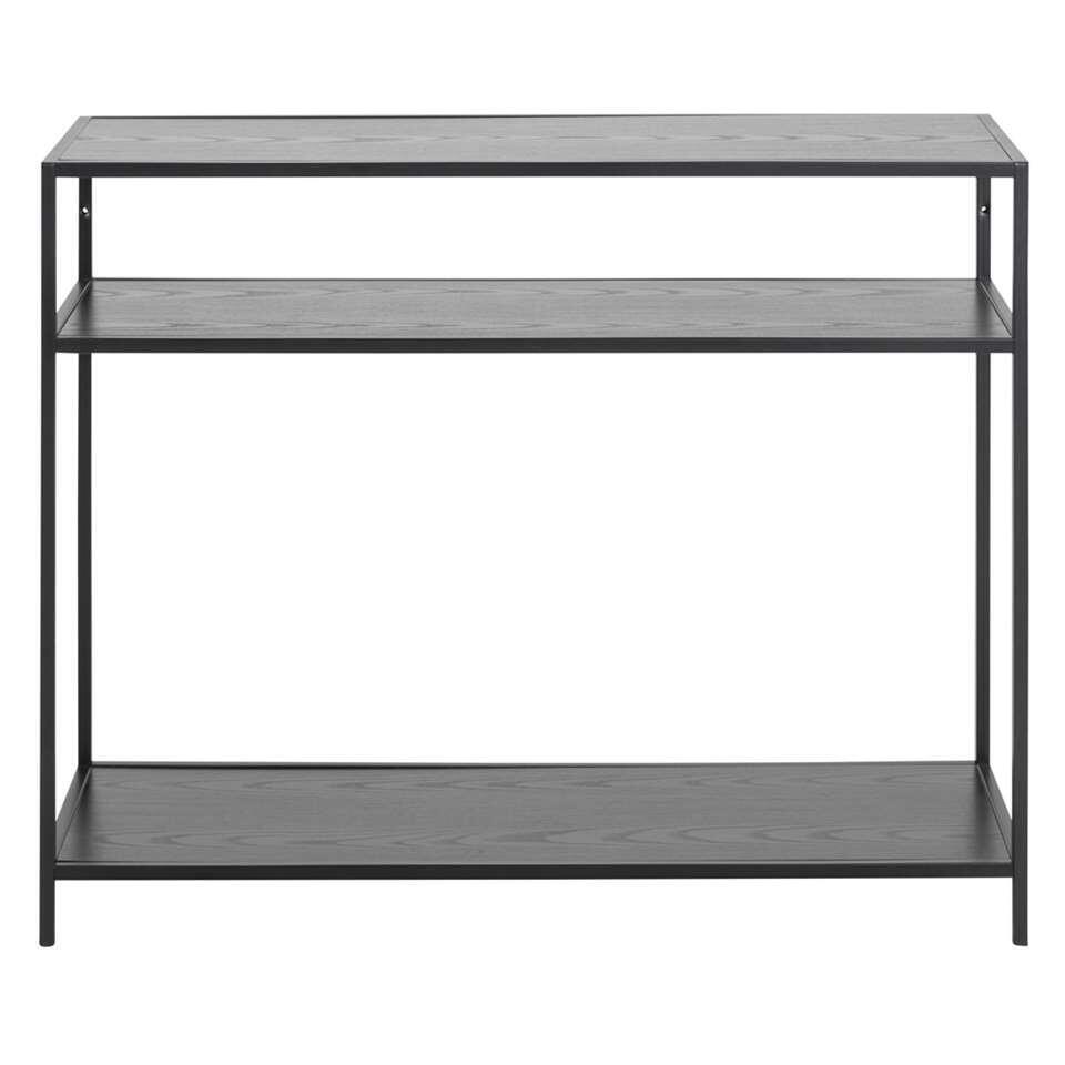 Table murale Jaxx - noire - 79x100x35 cm