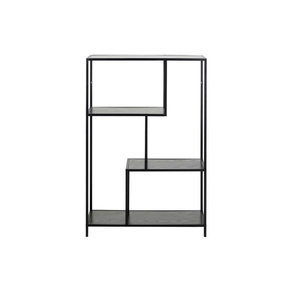 Bibliothèque Jaxx - noire - 114x77x35 cm