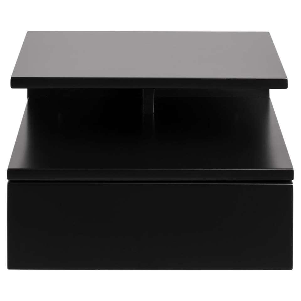 Meuble de chevet Granbo - 1 tiroir - noir