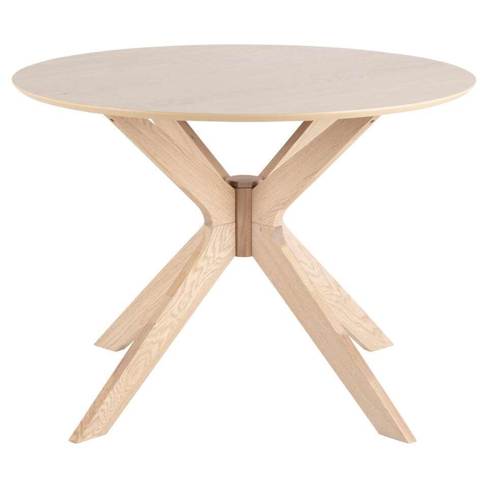 Table de salle à manger Novel - couleur chêne - 75x105 cm