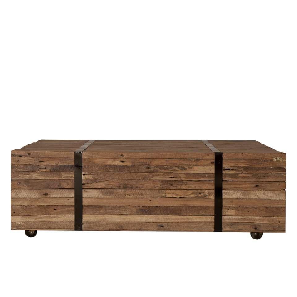 Salontafel Cariati - naturel - 35x100x72 cm